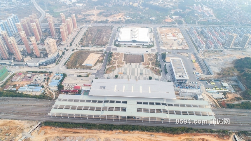 40亿砸钱模式 莆田高铁新城6大项目大航拍!