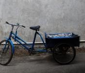 闲置三轮自行车转让。