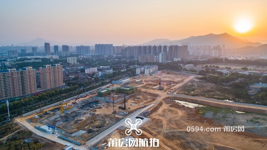 航拍揭秘:建发磐龙府开工 一期年底亮相?