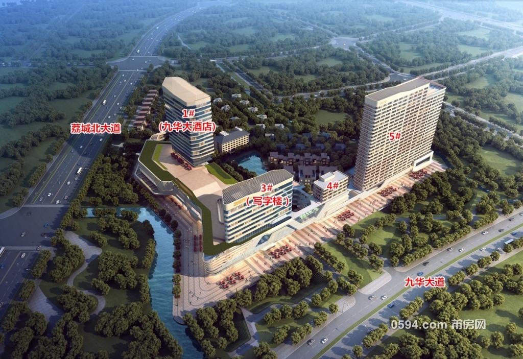 荣华大乐城90-153㎡平层